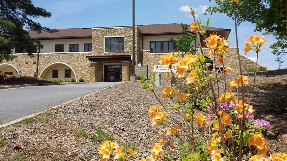 The beautiful Community Center where the Chamber of Commerce and Butternut Creek Golf Course are headquartered.