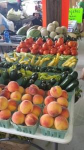 Local produce.