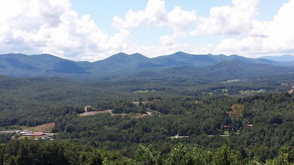 My beautiful, peaceful mountains.