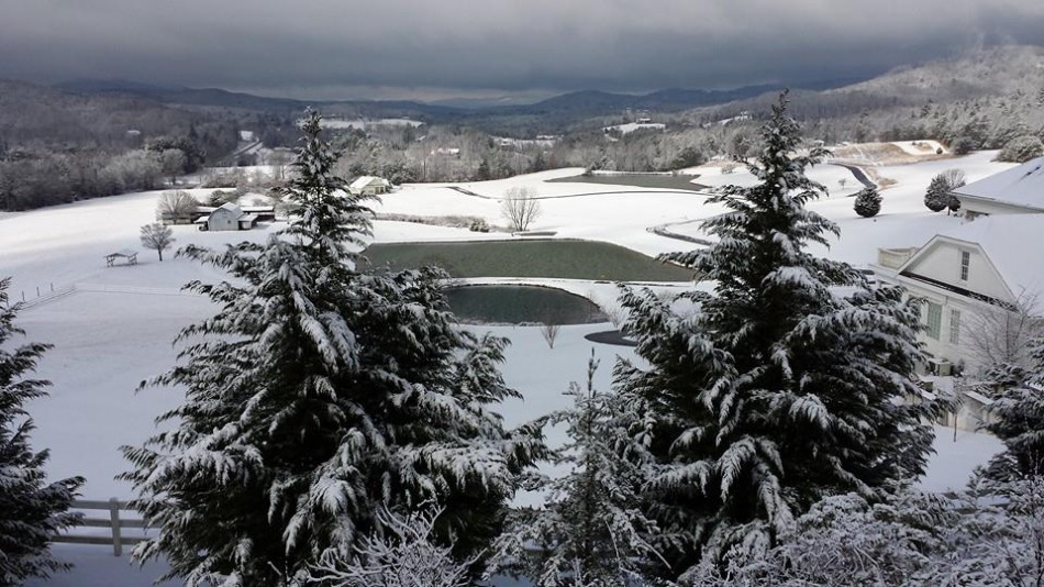 A beautiful picture from the north side of the county