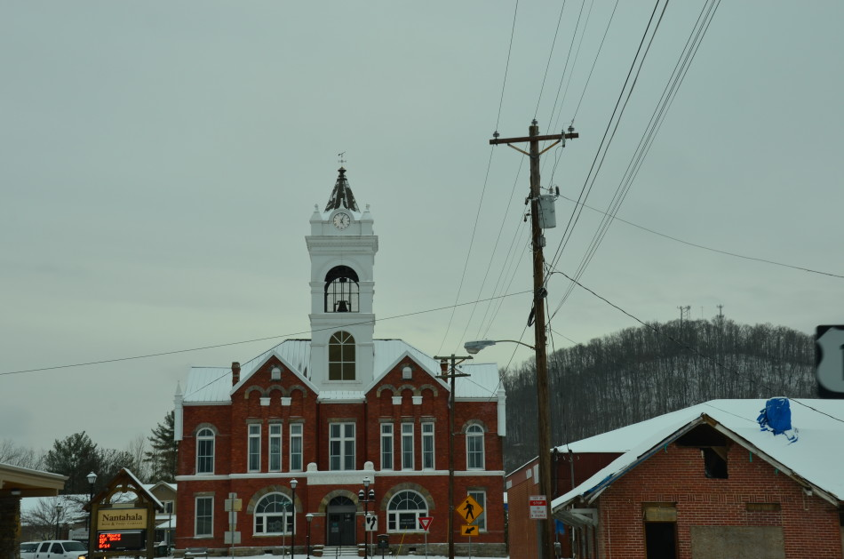 Another shot of the Old Courthouse.