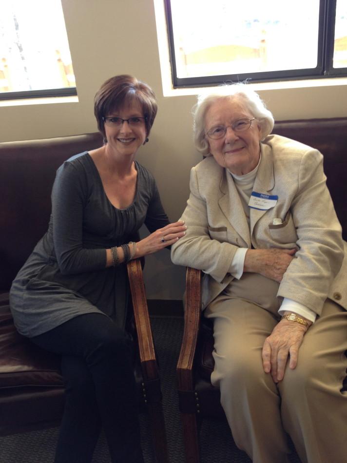 Anita Roper and me
