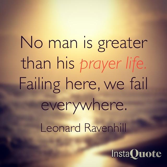Hows Your Prayer Life Leah Adams