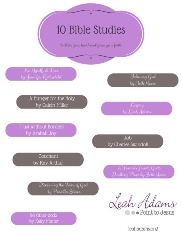 10 Bible Studies