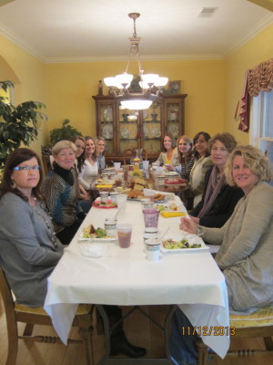 Tuesday Bible study girls