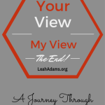The End! Your View, My View of The Revelation