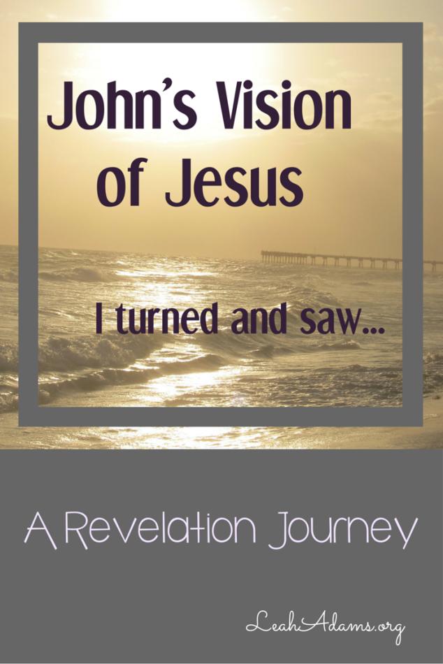 John's vision of Jesus Revelation 1