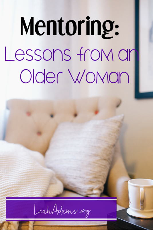 Mentoring: Lessons from an Older Woman