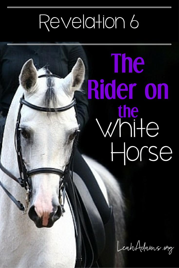 Rider on White Horse Seal 1 Revelation 6