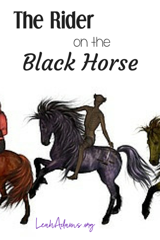 Rider on the Black Horse ~ Seal 3