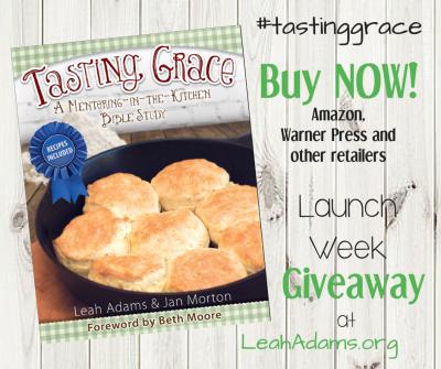 Tasting Grace Launch Week Giveaway