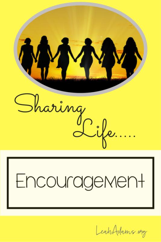 Sharing Life Encouragement