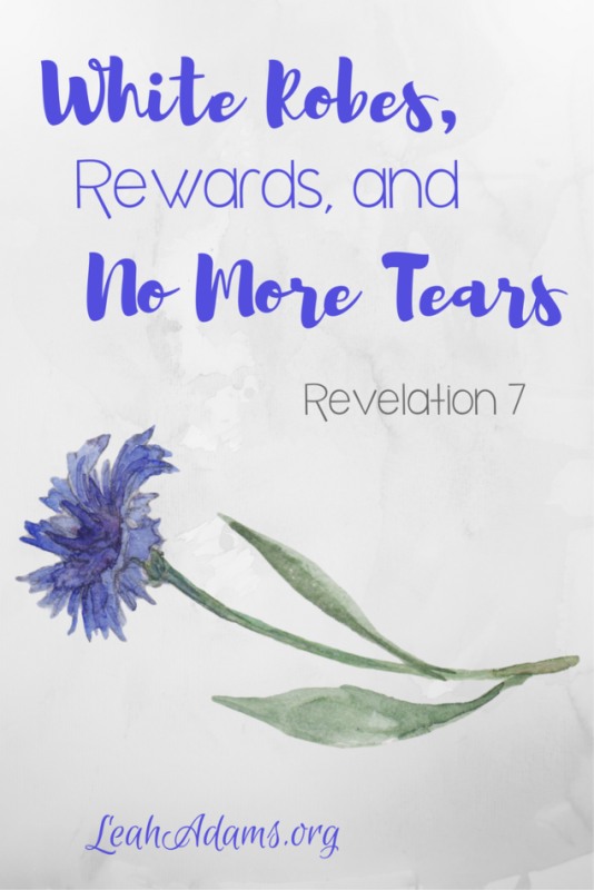 White Robes Rewards and No More Tears Revelation 7