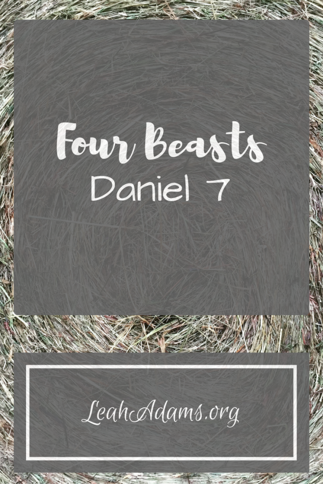 The Four Beasts of Daniel 7