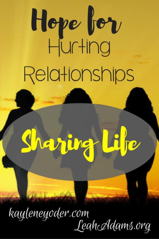 Hope for Hurting Relationships Kaylene Yoder