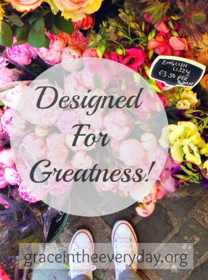 Designed for Greatness Tammy Provins