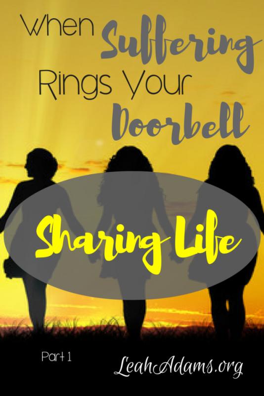 When Suffering Rings Your Doorbell