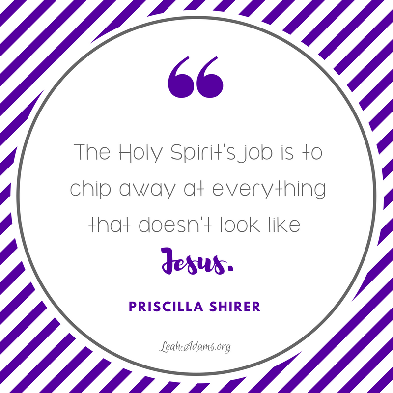Holy Spirit's job quote Shirer
