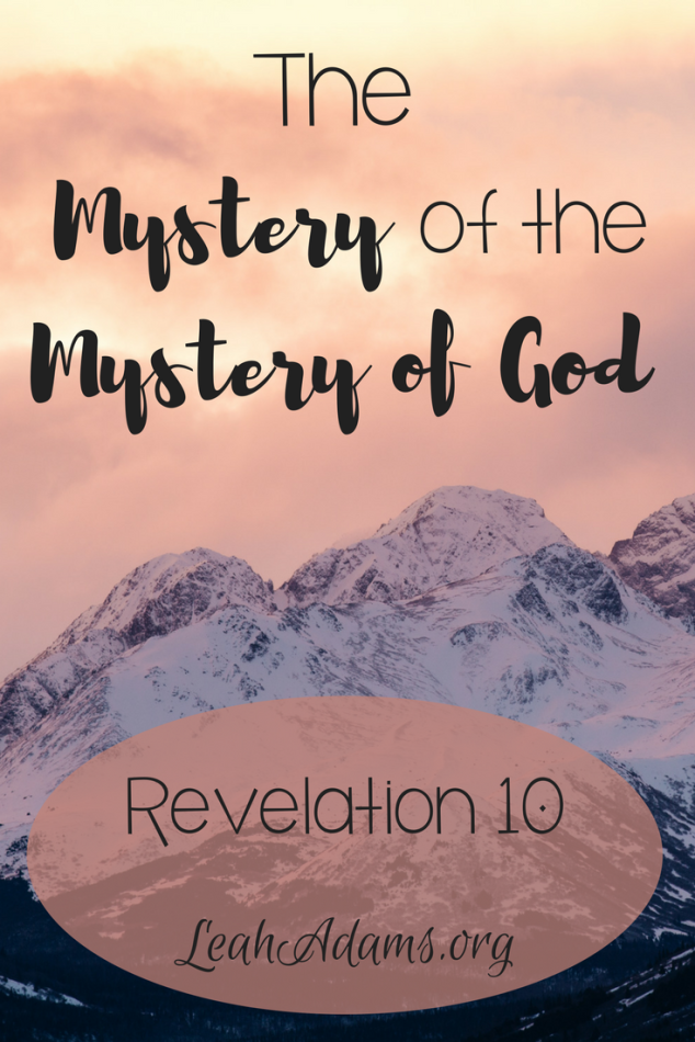 The Mystery of the Mystery of God