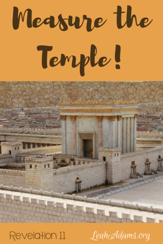 Measure the Temple Revelation 11