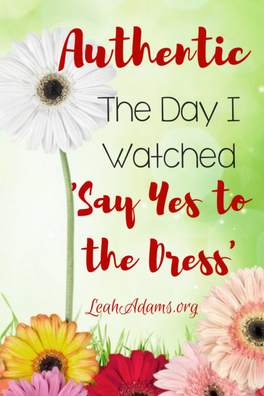 Romans 12:9b Say Yes to the Dress