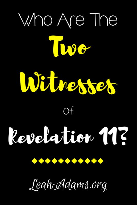 Two Witnesses of Revelation 11