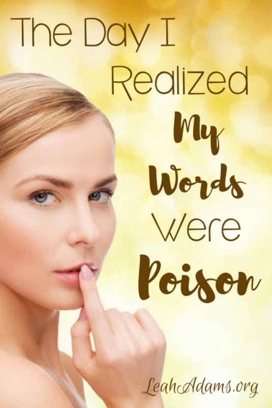 The Day I Realized My Words Were Poison