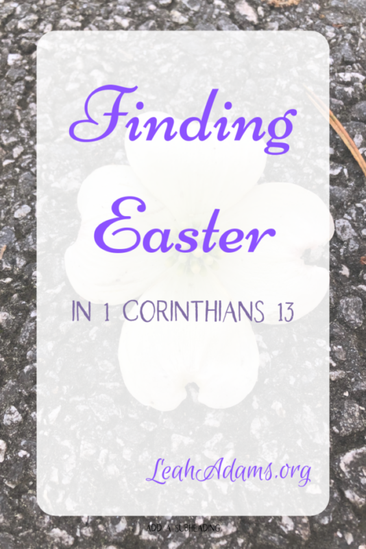 Finding Easter